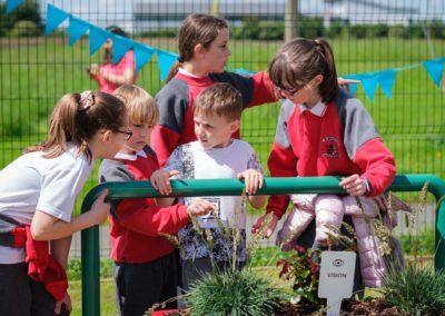 Community Sensory Garden Trim Opening (11)