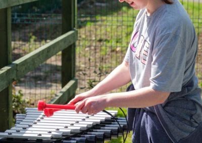 Community Sensory Garden Trim Opening (24)